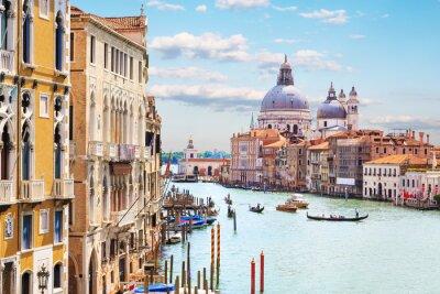 Affisch Venedig. Grand Canal