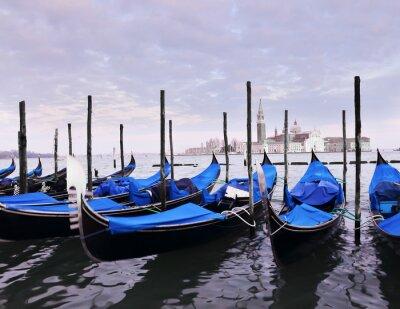 Affisch Venedig vykort