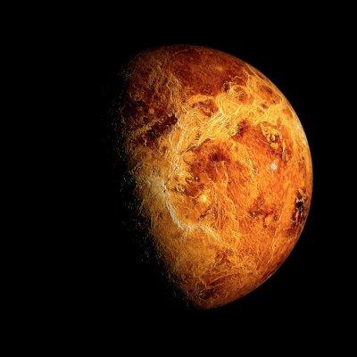 Affisch Venus Delar av denna bild tillhandahålls av NASA