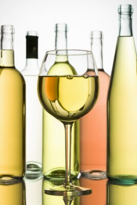 Affisch vitt vin