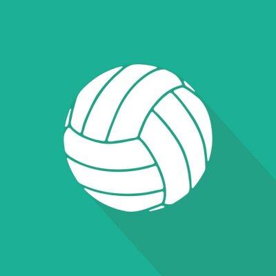 Affisch Volleyboll
