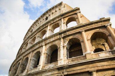 Affisch Vy över Colosseum i Rom, Italien under dagen
