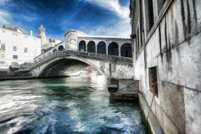 Affisch Wenecja obraz