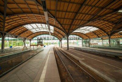 Affisch Wroclaw järnvägsstation