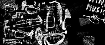 Affisch Духовые музыкальные инструменты