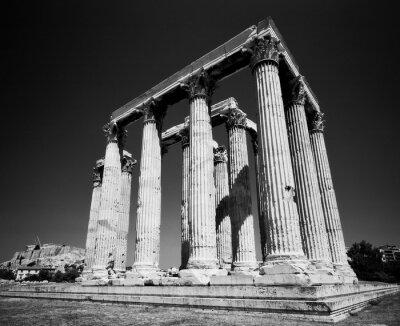 Affisch Zeustemplet