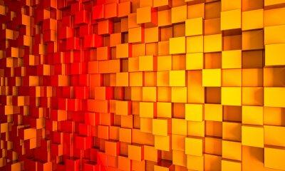 Canvastavlor 3d geometrisk bakgrund