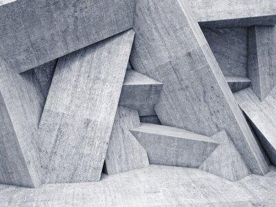 Canvastavlor 3d geometriska vägg