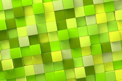 Canvastavlor 3d kub Bakgrund