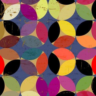 Canvastavlor abstrakt cirklar mönster