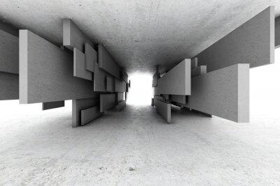 Canvastavlor Abstrakt geometrisk bakgrund