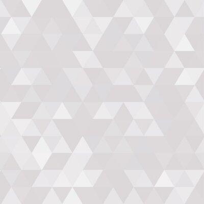 Canvastavlor Abstrakt geometrisk bakgrund av triangulära polygoner