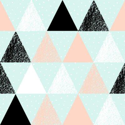 Canvastavlor Abstrakt geometriska mönster