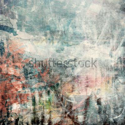 Canvastavlor Abstrakt grunge bakgrund, repad textur