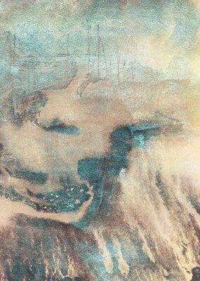 Canvastavlor Abstrakt målning