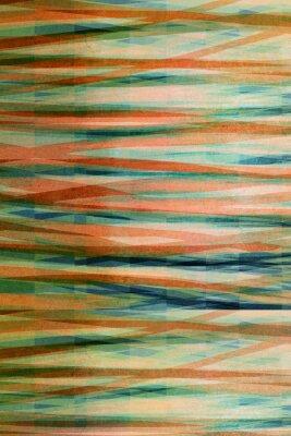 Canvastavlor abstrakt randig bakgrund - Strukturerad grafisk design