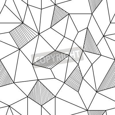 Canvastavlor Abstrakt Seamless Bakgrund