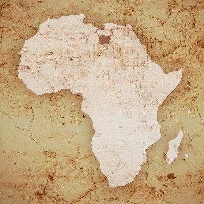Canvastavlor afrika