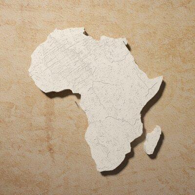 Canvastavlor afrikaen