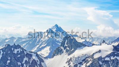 Canvastavlor Alperna från Titlis Peak