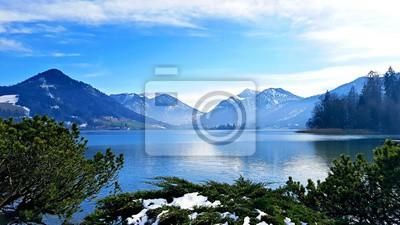 Canvastavlor Alpine Blue