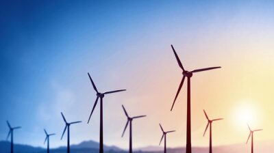 Canvastavlor Alternativ vindkraft