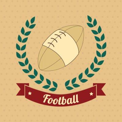 Canvastavlor amerikansk fotboll