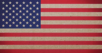 Canvastavlor amerikanska flaggan