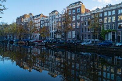 Canvastavlor Amster Gracht