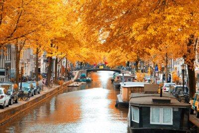 Canvastavlor Amsterdam.