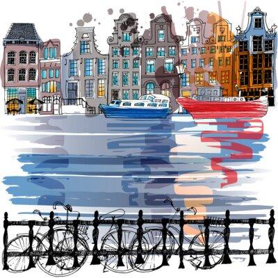 Canvastavlor amsterdam
