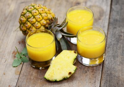 Canvastavlor ananas