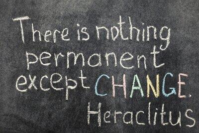 Canvastavlor Ändringen är permanent