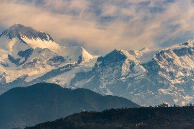 Canvastavlor Annapurna vid soluppgången