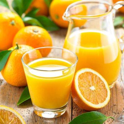 Canvastavlor apelsinjuice