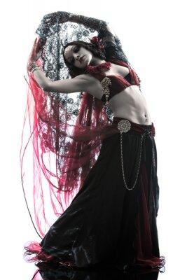 Canvastavlor arabiska kvinna magdansös dans