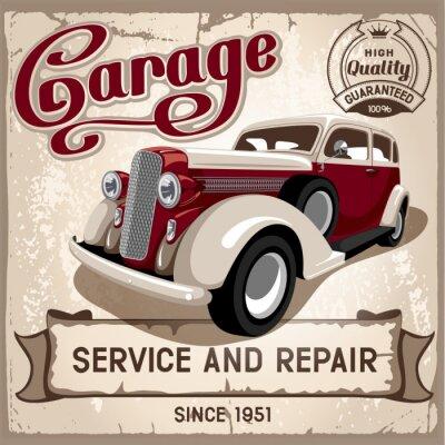 Canvastavlor Auto Service