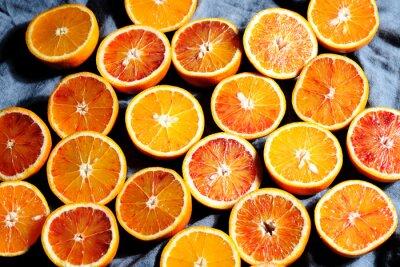 Canvastavlor bakgrund av apelsiner