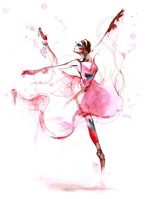 Canvastavlor balett