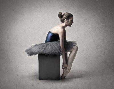Canvastavlor ballerina