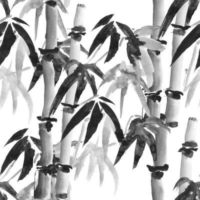 Canvastavlor bambu mönster