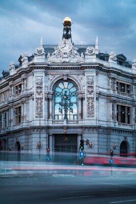 Canvastavlor Bank of Spain Gammal byggnad