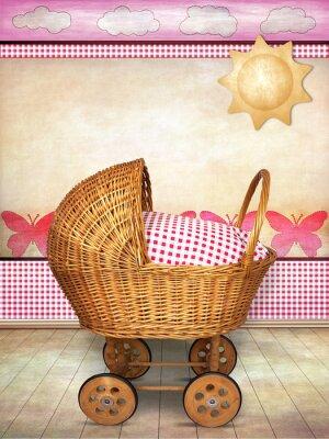 Canvastavlor barnvagn