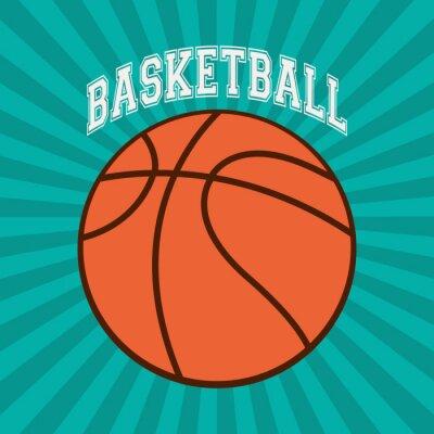 Canvastavlor Basket sportdesign