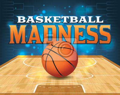 Canvastavlor Basket Tournament Illustration