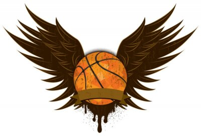 Canvastavlor basket vingar
