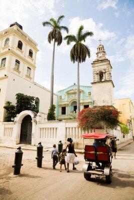 Canvastavlor Belen Convent, Havanna