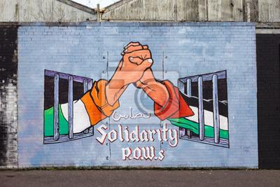 Canvastavlor Belfast väggmålningar