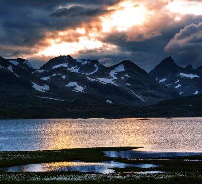 Canvastavlor Berg i Norge