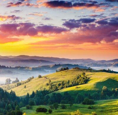 Canvastavlor berg landskap